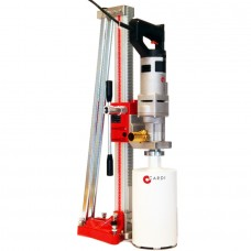 CORE DRILL KIT FOR CHIMNEYS AND HEATERS INSTALLATION DRY DRILLING, HAND-HELD & ON DRILL STAND CARDI 184-K