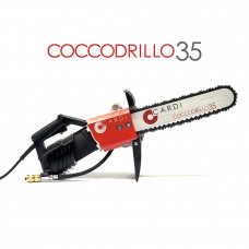 CD35.35 ELECTRIC DIAMOND CHAINSAW WET CUT OF CONCRETE AND MASONRY